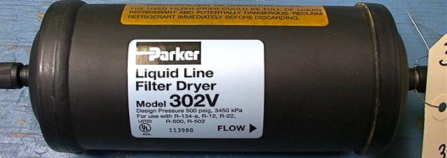 Nos Parker 302v Liquid Line Filter Dryer For Ac System Reg