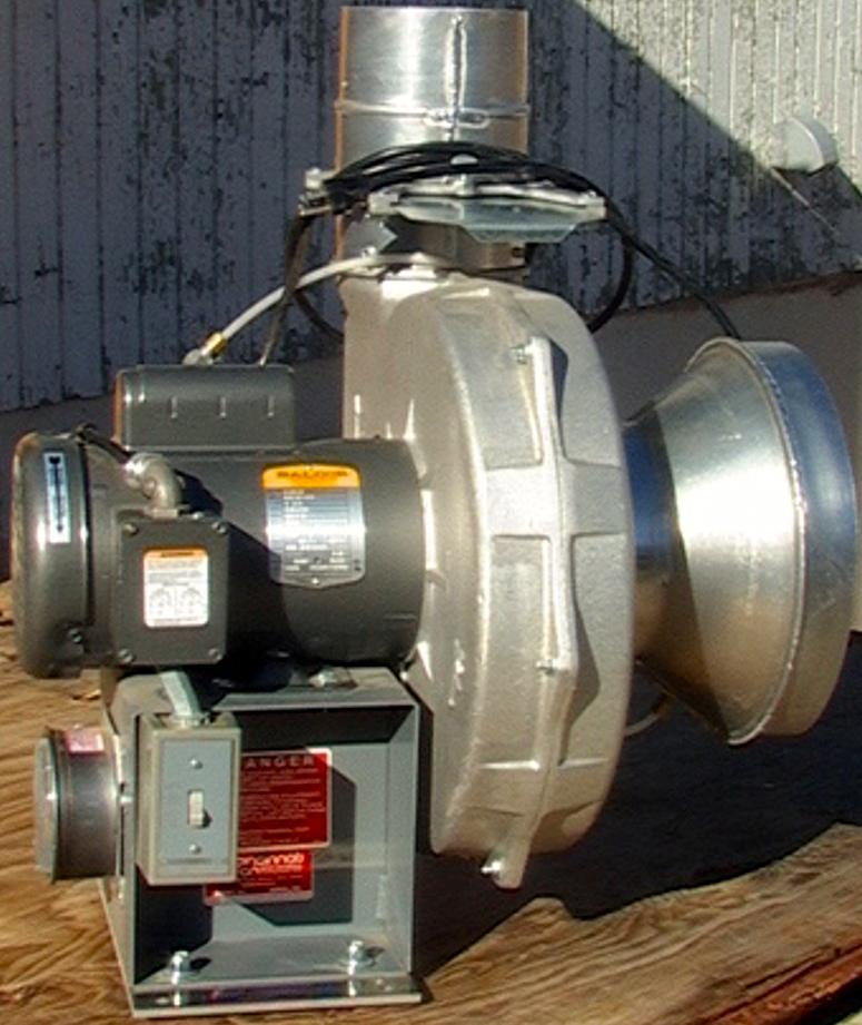 Cast Aluminum Blowers : Cincinnati pb series hp cast aluminum pressure blower
