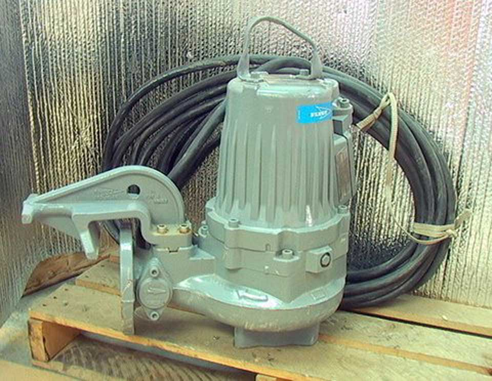65 hp submersible sump sewage pump flygt 3102901235