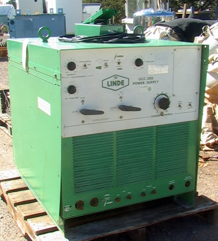 Single Phase 300 Amp Linde Type Ucc Stick Welder
