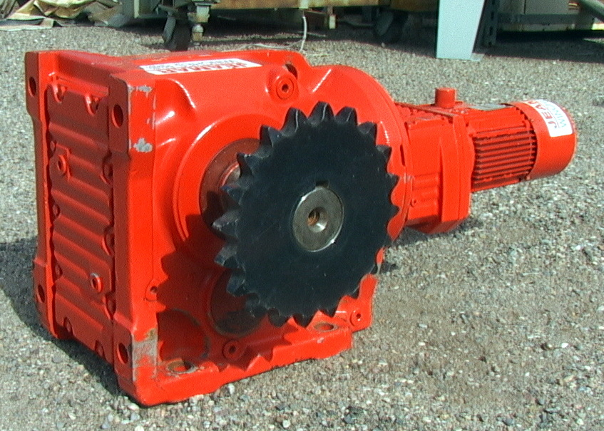 Right Angle Winch : Right angle gear motor hp ratio rpm jeamar