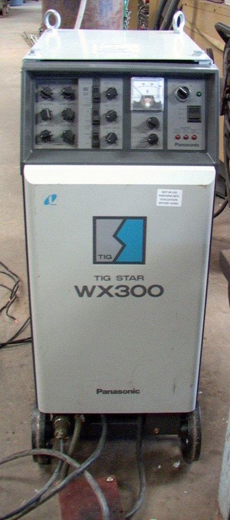 12KVA 300Amp Panasonic Tig Star Welder YC-300WX2 w/ foot pedal [YC