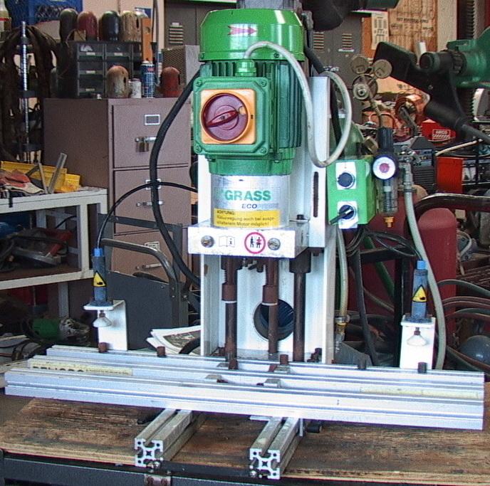 grass hinge machine parts