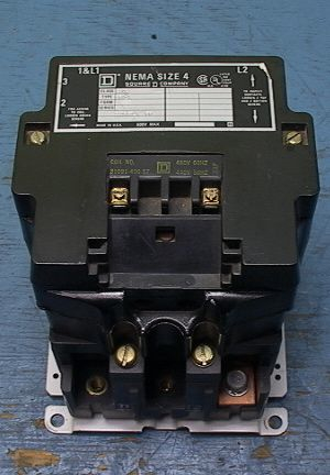 square d contactor starter relay nema size-4 480 volt coil ... 480 volt starter wiring diagram load hog 480 volt charger wiring diagrams #9