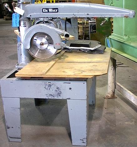 16 5hp Dewalt Radial Arm Saw Model Ge Ge 895 00