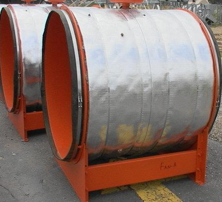 Joy Axivane Axial Vane Fan Blower Air Mover 90 Hp 70 000